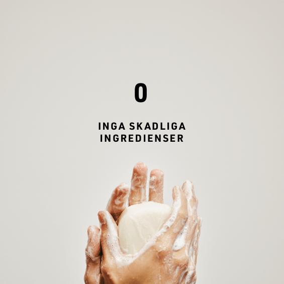 inga skadliga ingredienser