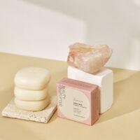 body bar soap with alpine glow scent