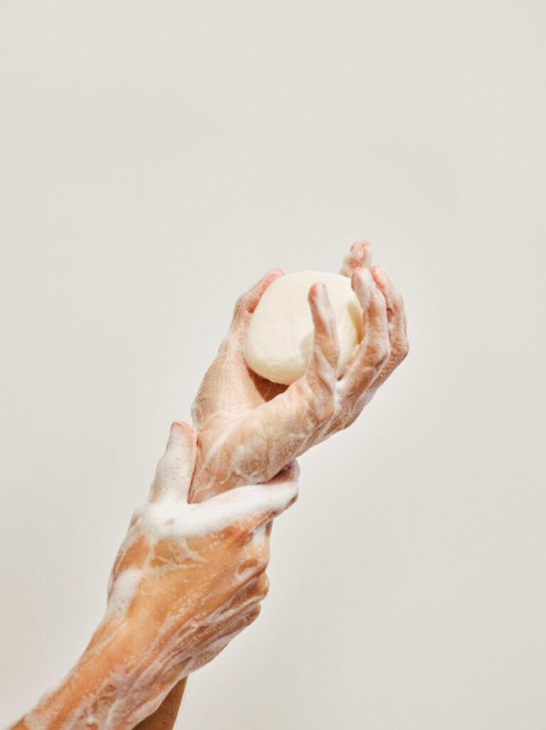 organic hand soap bar