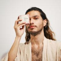 organic shampoo bar long hair