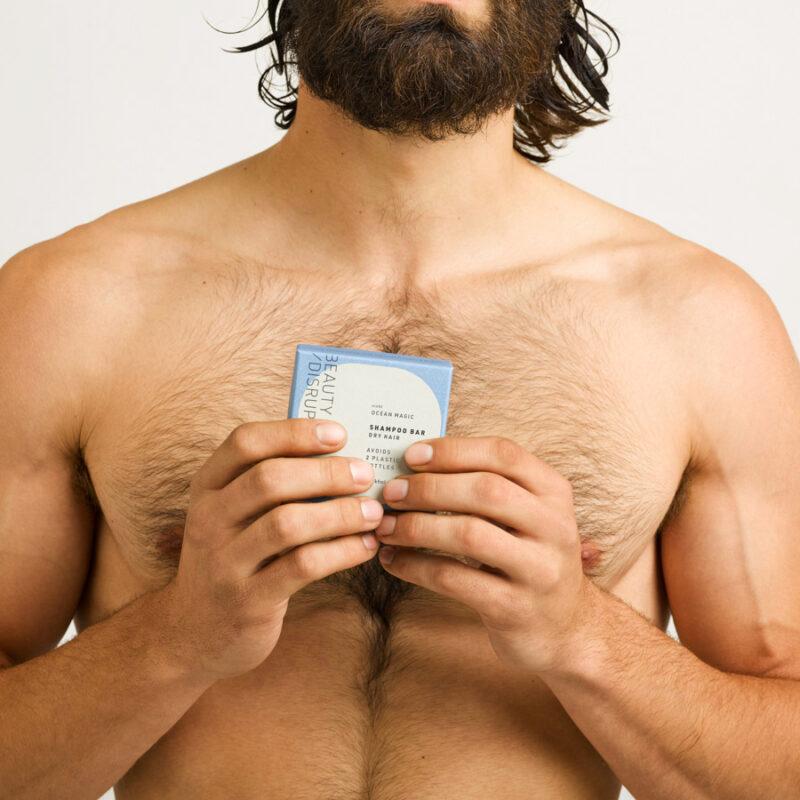 residue free shampoo for men