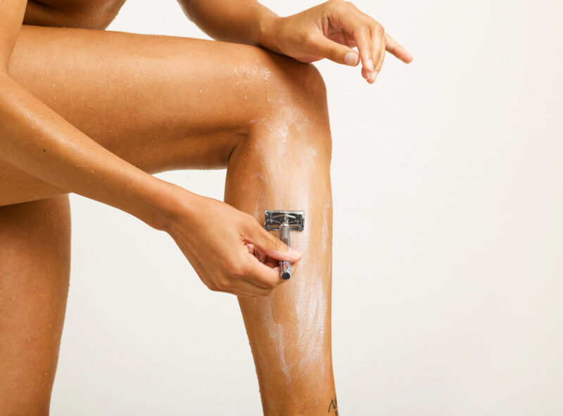 women's shaving bar